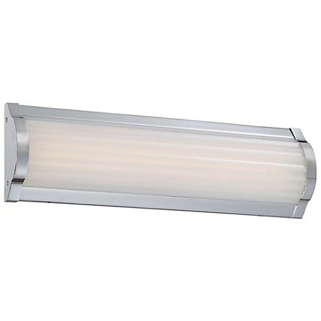 "George Kovacs Verin 16"" Wide LED Chrome Bath Light"