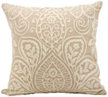 "Kathy Ireland Luxury 18"" Square Blush Pillow"