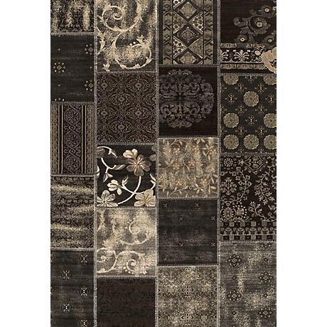 Shelby Paris 05770 Black Area Rug