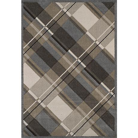 Townshend Journey Grey 01572 Area Rug