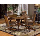 Hillsdale Nassau Dark Brown Game Table