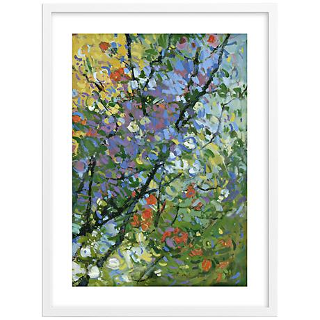 "Springtide I 30"" High Framed Wall Art"