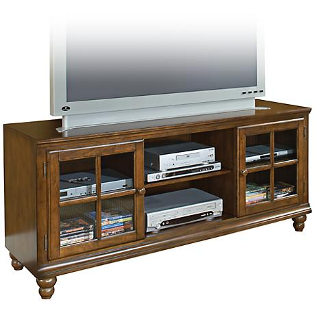 Hillsdale Grand Bay Large Pine Entertainment Console