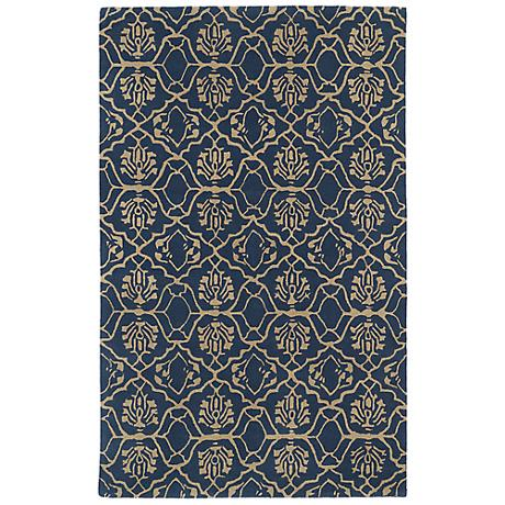 Kaleen Evolution EVL01-80 Ash Wool Area Rug