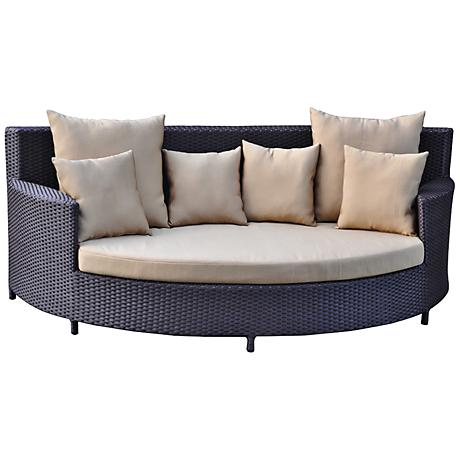 Opulence Collection Zaga Wicker Leisure Poolside Bed