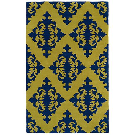 Kaleen Evolution EVL05-70 Wasabi Wool Area Rug