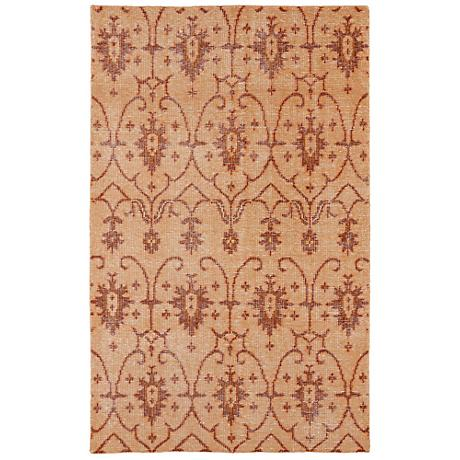 Kaleen Restoration RES01-53 Paprika Wool Area Rug