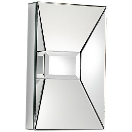 "Pentallics 15 3/4"" x 25 1/2"" Rectangular Wall Mirror"