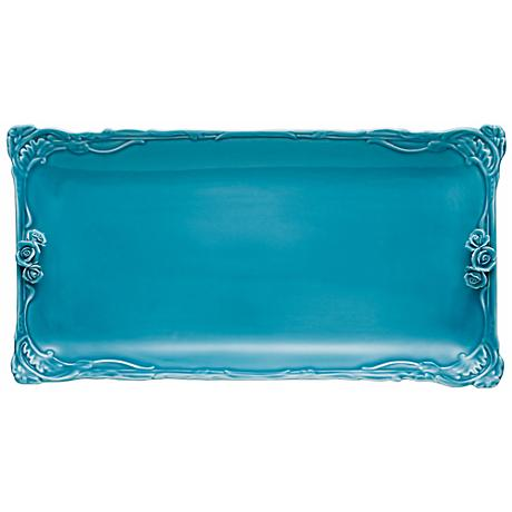 Dream A Little Aqua Blue Vanity Tray