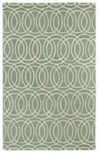 Kaleen Revolution REV02-88 8'x11' Mint Wool Area Rug