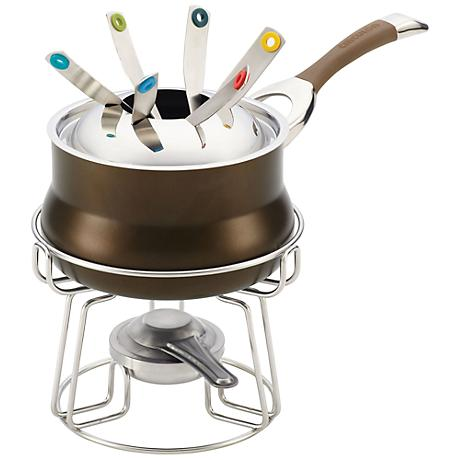 Circulon Symmetry Nonstick 3.75-Qt Chocolate Fondue Set
