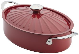 Rachael Ray Cucina Oven-To-Table 5-Quart Red Sauteuse (5R139) 5R139