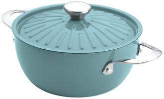 Rachael Ray Cucina Oven-To-Table 4 1/2-Quart Blue Casserole (5R142) 5R142