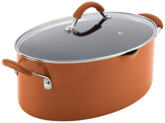 Rachael Ray Cucina 8-Quart Orange Pasta Pot (5R152) 5R152