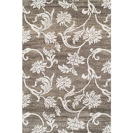 Dalyn Omega OM601 Pewter Area Rug