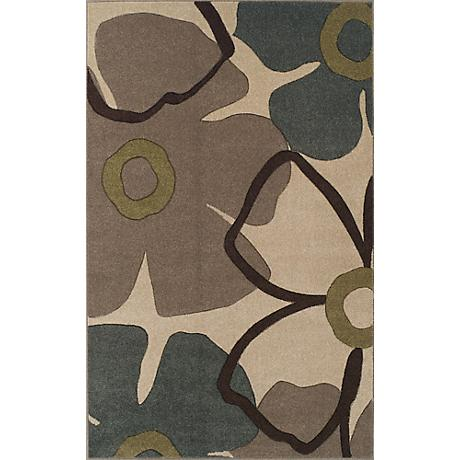 Dalyn Radiance RD105 Ivory Area Rug