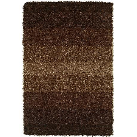 Dalyn Spectrum SM100 Coffee Shag Rug