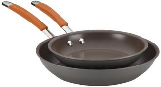 Rachael Ray Cucina Hard-Anodized 2-Piece Skillet Set (5R477) 5R477