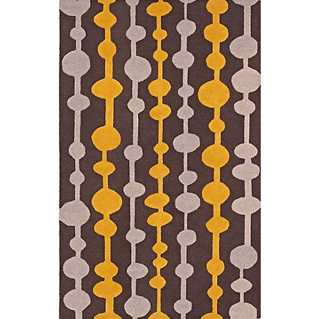 Dalyn Tones TN6 Carbon Wool Area Rug