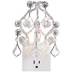 Maize Clear Chandelier Night Light