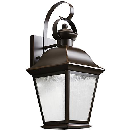Kichler Mount Vernon 16 3 4 Quot High Led Outdoor Wall Light