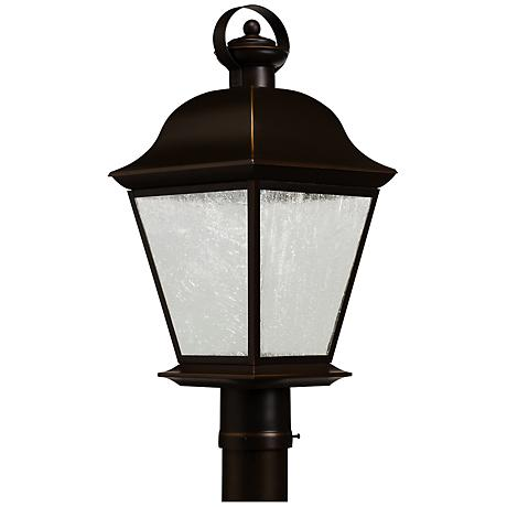 "Kichler Mount Vernon 20 3/4"" High LED Outdoor Post Light"