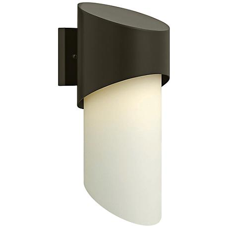 "Hinkley Solo 16 3/4"" High Bronze Outdoor Wall Light"