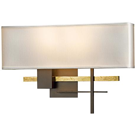 "Hubbardton Forge Cosmo 11 1/2"" High Bronze Wall Sconce"