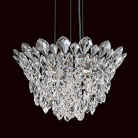"Schonbek Trilliane Cluster 17"" Wide Crystal Pendant Light"