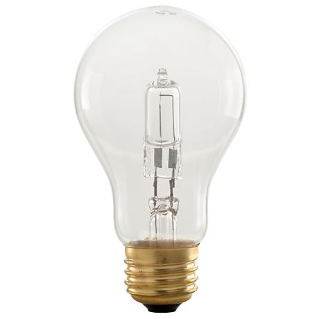 Smart Timer 10 Auto-Off Clear 42 Watt Halogen Light Bulb