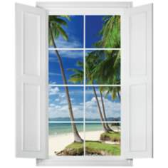 Tropical Paradise Wall Decal