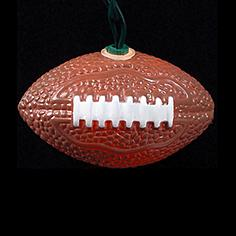 Ten Football Party String Lights
