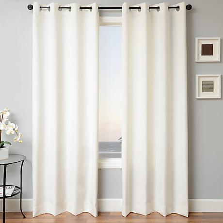 Sunbrella Solid Natural Drapery Panel