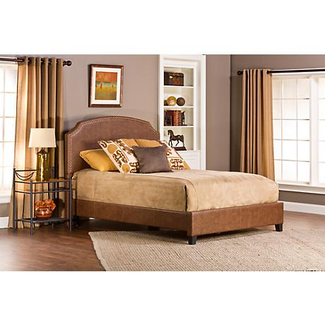 Hillsdale Durango Brown Faux Leather Bed