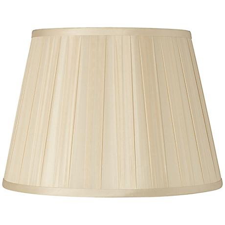 Beige Euro Box Pleat Shade 10x16x10 (Spider)