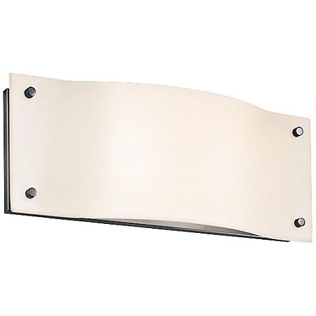 "Sonneman Oceana 5 1/2"" High Chrome LED Wall Sconce"