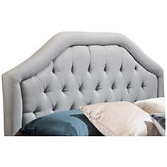 Earlton Light Gray Full/Queen Arch Headboard