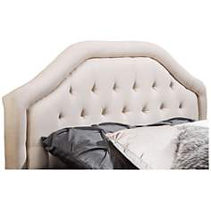 Earlton Off-White Full/Queen Arch Headboard