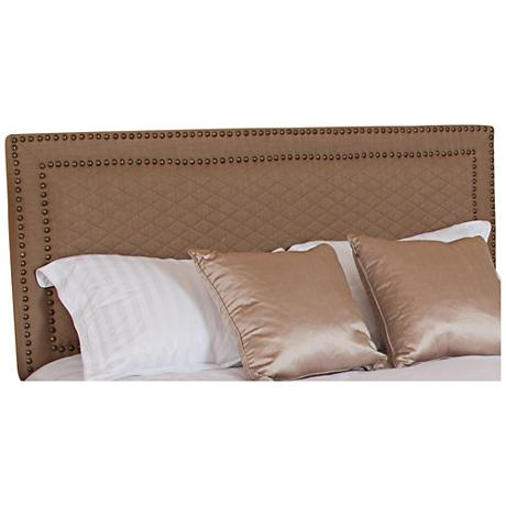 Robeson Coffee Full/Queen Upholstered Headboard