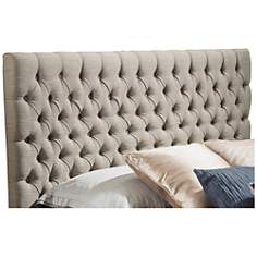 Bierman Sand Full/Queen Upholstered Headboard