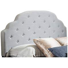 Arneson Light Gray Full/Queen Arched Headboard