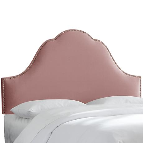 Obsession Smokey Amethyst High-Arch Headboard
