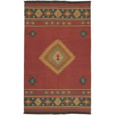 Surya Jewel Tone JT-1033 Red Clay Area Rug