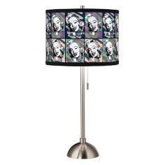 Hollywood Dreams I Giclee Art Shade Table Lamp