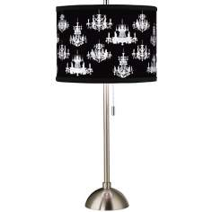 Giclee Chic Chandeliers Table Lamp