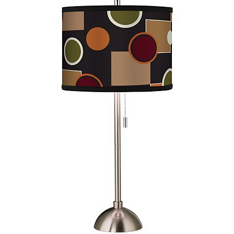 Giclee Retro Medley Table Lamp