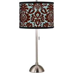Stacy Garcia Kiwi Tini Florence Giclee Table Lamp