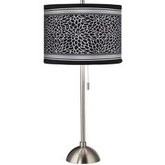 Stacy Garcia Metropolitan Dahlia Brushed Steel Table Lamp