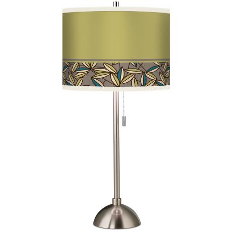 Stacy Garcia Floral Chorus Giclee Table Lamp