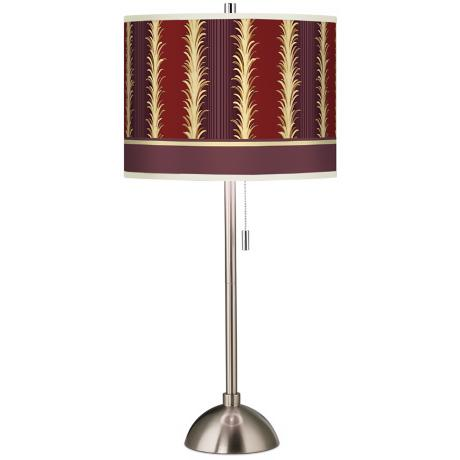 Stacy Garcia Lexington Cinnamon Stripe Giclee Table Lamp